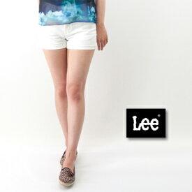 Lee リー レディース HERITAGE CLASSIC SHORTS ホワイト/ワンウォッシュ[LL9220-134/300]【SS】(S-5)