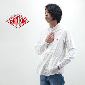 DANTON ダントン メンズ オックスフォード バンドカラーシャツ[JD-3607YOX]【BASIC】