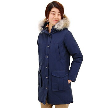 【FW】ミューザ レディース HOODED COAT WITH DOWN LINING&DETACHABLE FUR TRIMMING[NMSU0862]