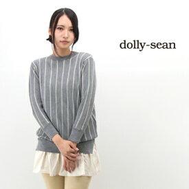 dolly sean ドリーシーン レディース 裾切替ハイゲージニットワンピース[M-8848]【FW】