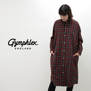 Gymphlex ジムフレックス レディース ビエラ起毛チェックワンピース[J-1176VHC]【2019FW】