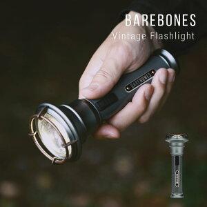 ベアボーンズ BAREBONES ランタン メンズ レディース 雑貨 ビンテージフラッシュライト リビング アウトドア 調光 調光機能 充電式 LED 自立 ひっかける 明るい おしゃれ キャンプ アンティーク