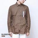 バーバリー BURBERRY CHATHAM TBM メンズ モノグラムストライププリント コットンシャツ XS/S/M/L【返品交換無料】