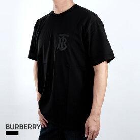 バーバリー BURBERRY Tシャル メンズ 半袖 モノグラムモチーフ コットン ブラック XXS/XS/S/M 80318691 黒