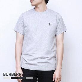 バーバリー BURBERRY Tシャツ メンズ モノグラムモチーフ コットン PARKER トップス シャツ カットソー 半袖【返品交換無料】
