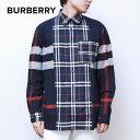 バーバリー BURBERRY シャツ メンズ チェックコットンシャツ TISDALE 長袖 トップス ワイシャツ ドレスシャツ アーカ…