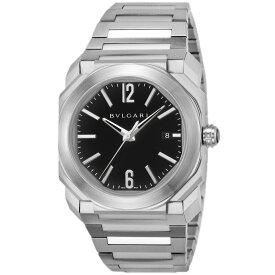 【店内全品ポイント5倍 20日23時59分迄】ブルガリ BVLGARI オクト メンズ 時計 腕時計 BGO38BSSD ブランド とけい ウォッチ