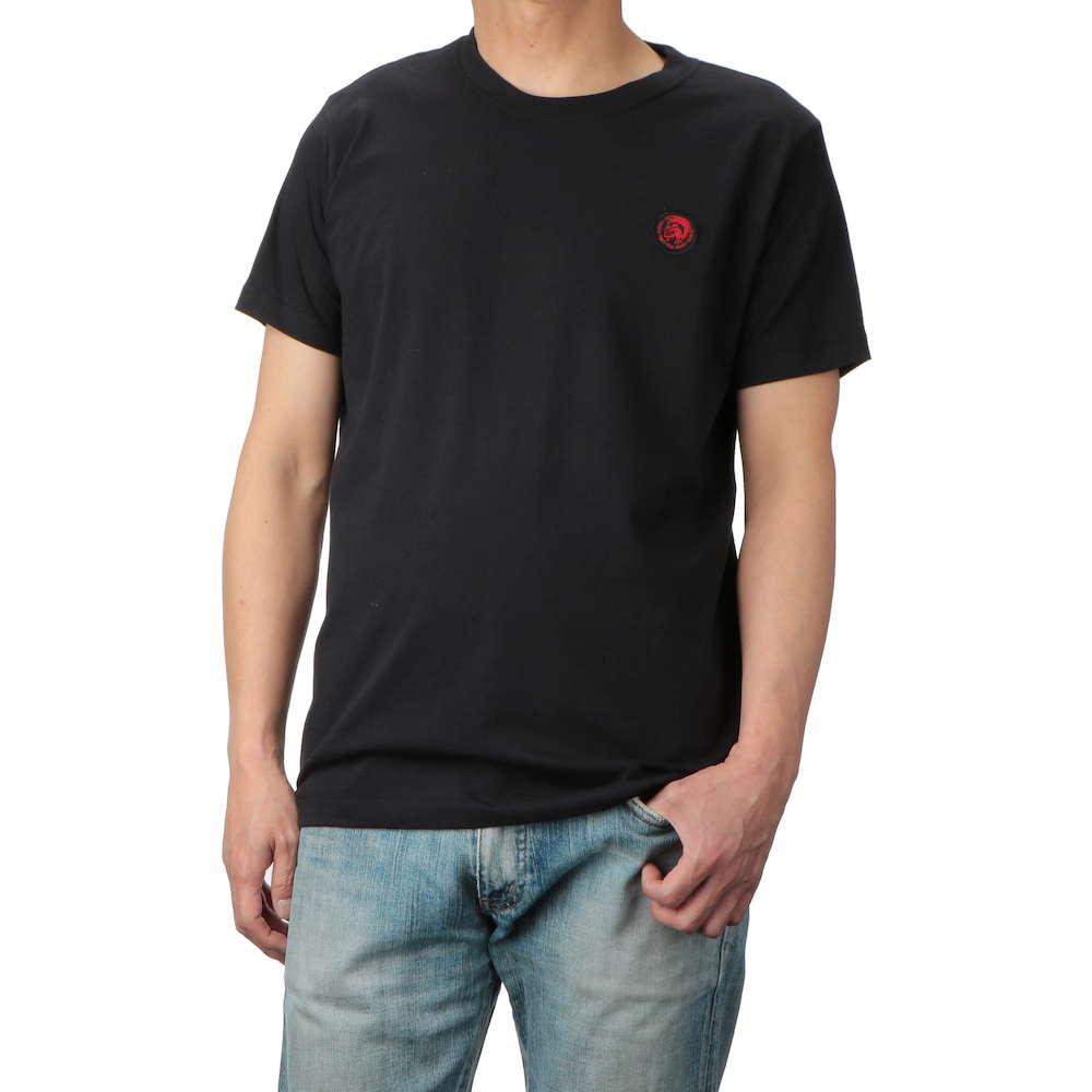 ディーゼル DIESEL T-DVL-ML-RE MAGLIETTA メンズ トップス Tシャツ - Uネックブランド ティーシャツ シャツ カットソー カジュアル