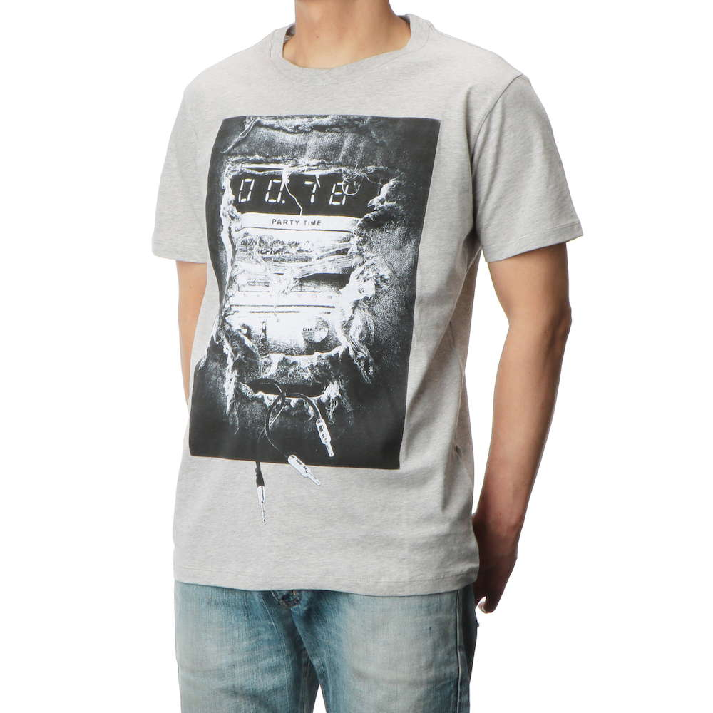 ディーゼル DIESEL T-JOE-OA MAGLIETTA メンズ トップス Tシャツ DSA-00SXNU-0091B-912-M Uネックブランド ティーシャツ シャツ カットソー カジュアル