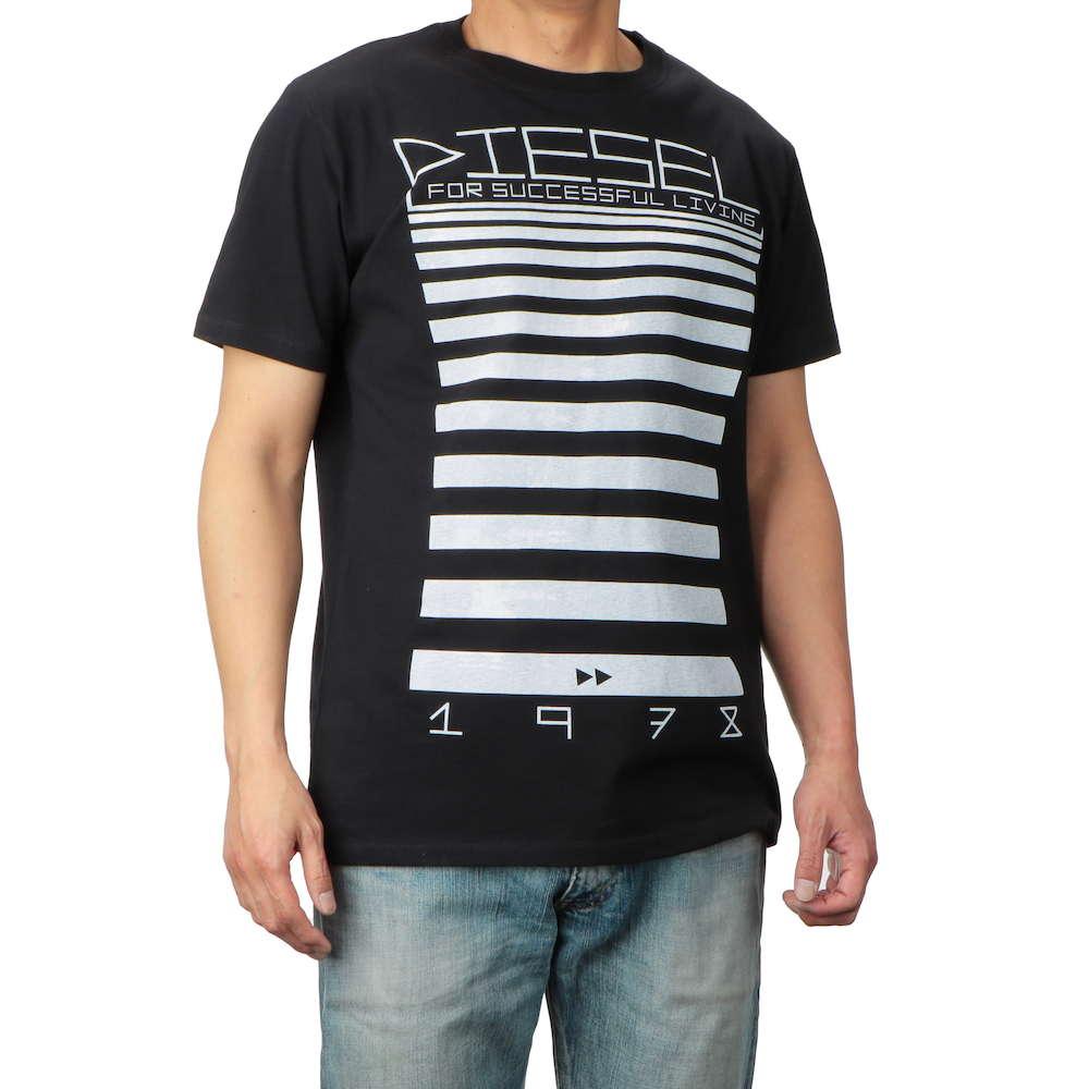 ディーゼル DIESEL T-DIEGO-OD MAGLIETTA メンズ トップス Tシャツ - Uネックブランド ティーシャツ シャツ カットソー カジュアル