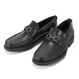 サルヴァトーレ フェラガモ Salvatore Ferragamo モカシン メンズ GRANDIOSO シューズ ガンチーニ ラバーソール パンプス 革靴 カジュアル ビジネス ビジカジ