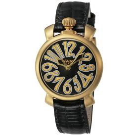 ガガミラノ GAGA MILANO レディース 時計 腕時計 スイス製 ガガ ミラノ クォーツ ブラック 6023.02LT