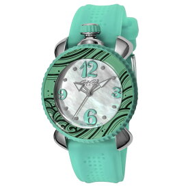 ガガミラノ GAGA MILANO LADY SPORTS 4MM レディース 時計 腕時計 スイス製 ガガ ミラノ クォーツ ホワイト 7020.04