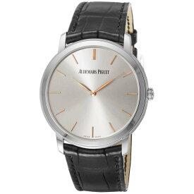 オーデマ・ピゲ AUDEMARS PIGUET エクストラ シン メンズ 時計 腕時計 自動巻 ホワイト 15180BC.OO.A002CR.01 金無垢