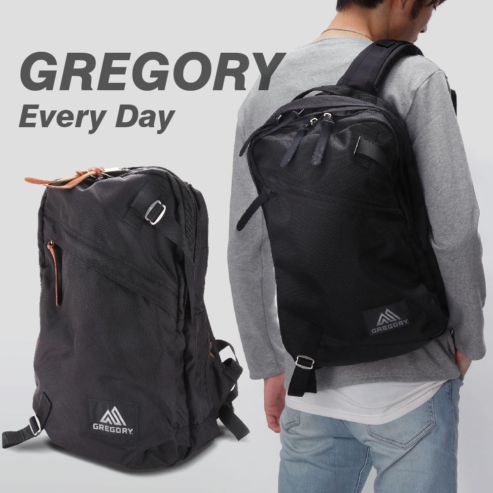 グレゴリー GREGORY EVERY DAY メンズ バッグ リュック 655781041 655790440 【 ナイロン A4 ブランド リュックサック バックパック キッズ アウトドア バッグ ブラック フェス 登山 ハイキング 】