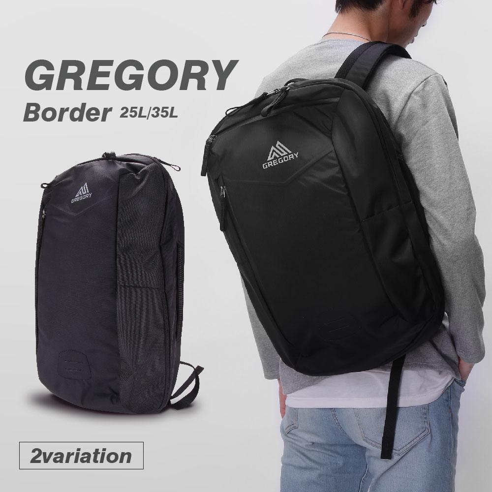 グレゴリー GREGORY BORDER メンズ バッグ リュック - ナイロン A3 B4ブランド リュックサック キッズ アウトドア バッグ