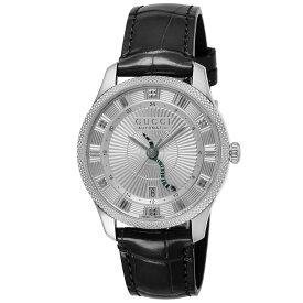 グッチ GUCCI Eryx メンズ 時計 腕時計 自動巻 シルバー YA126345