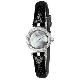 グッチ GUCCI ディアマンティッシマ レディース 時計 腕時計 クォーツ ホワイトパール YA141511