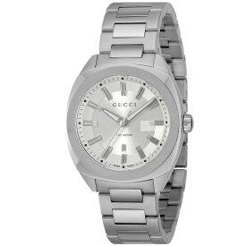 グッチ GUCCI GG2570 メンズ 時計 腕時計 クォーツ シルバー YA142402