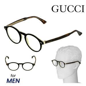 グッチ GUCCI メガネ 眼鏡 メガネフレーム メンズ ファッション 伊達メガネ アイウェア アイテム 小物 ブラウン系 GG0127O