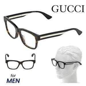 グッチ GUCCI メガネ 眼鏡 メガネフレーム メンズ ファッション 伊達メガネ アイウェア アイテム 小物 ダークブラウン系 GG0342OA