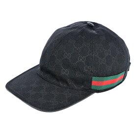 【キャッシュレス 5%還元対象】グッチ GUCCI ユニセックス 帽子 キャップ GUA-200035-KQWBG-1060-M ラグジュアリー ブランド イタリア CAP ワークキャップ ベースボールキャップ 野球帽