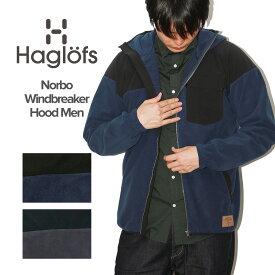 ホグロフス Haglofs NORBO WIND BREAKER HOOD / ノルボ ウインドブレーカー フリース ジャケット メンズ アパレル パーカー ファッション アウトドア 登山 キャンプ ブランド スウェーデン 北欧 スウェット フード付き カジュアル