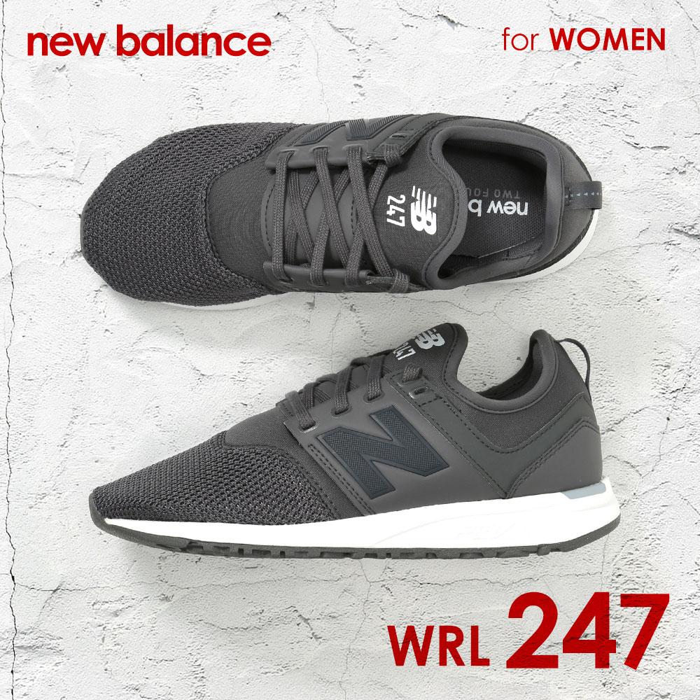 【 ニューバランス New Balance WRL247 レディース シューズ スニーカー ランニングシューズ NB ランニング 22cm 22.5cm 23cm 23.5cm 24cm 25cm 25.5cm ウィメンズ ブラック ホワイト グレー クラシック Classic 2017 新色 小さいサイズ 大きいサイズ ニューバラ 】