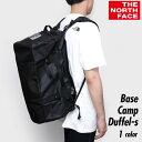 ノースフェイス ベースキャンプ ダッフル ブラック BLACK basecampduffels jk3 3WAY 通学 フェス 旅行 スポーツ 大容…