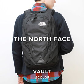ノースフェイス THE NORTH FACE VAULT ヴォルト jk3 ブラック BLACK リュック バックパック 通学 通勤 フェス 旅行 スポーツ 大容量 防水 キャンプ アウトドア 26.5リットル