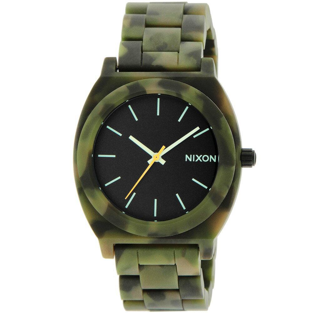 ニクソン NIXON TIME TELLER ACETATE ユニセックス 時計 腕時計 NX-A3271428 タイムテラー【カジュアル スケーター ストリート ファッション ブランド アメリカ】 【とけい ウォッチ】 超目玉 ピックアップ