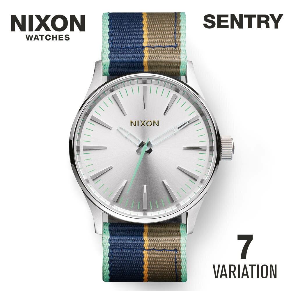 NIXON 【 ニクソン SENTRY セントリー ユニセックス レディース メンズ 時計 腕時計 カジュアル ストリート ファッション ブランド アメリカ ニクソン とけい ウォッチ A105 A377 A426 A450 リボンベルト レザー ステンレス 2017 NIXON】