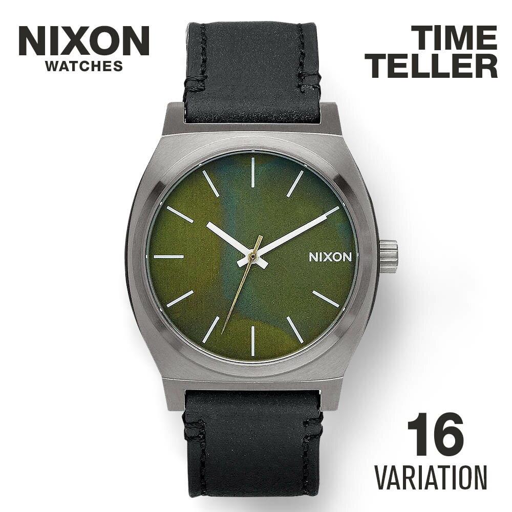 ニクソン NIXON TIME TELLER ユニセックス 時計 腕時計 【カジュアル スケーター ストリート ファッション ブランド アメリカ】 とけい ウォッチ 腕時計 NIXON 時計 NIXON TIME TIME TELLER タイムテラーP レディース メンズ