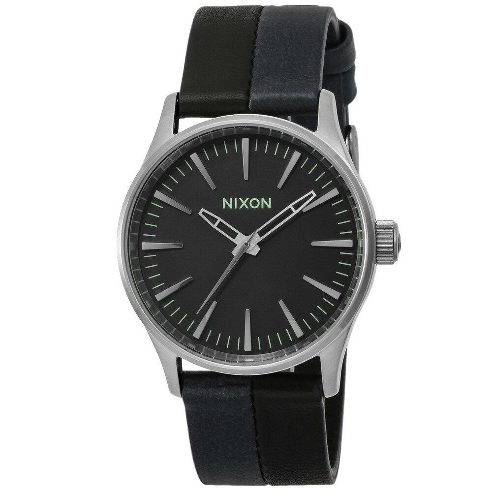 ニクソン NIXON SENTRY 38 LEATHER メンズ 時計 腕時計 NXS-A3771938 セントリー【カジュアル スケーター ストリート ファッション ブランド アメリカ】 とけい ウォッチ
