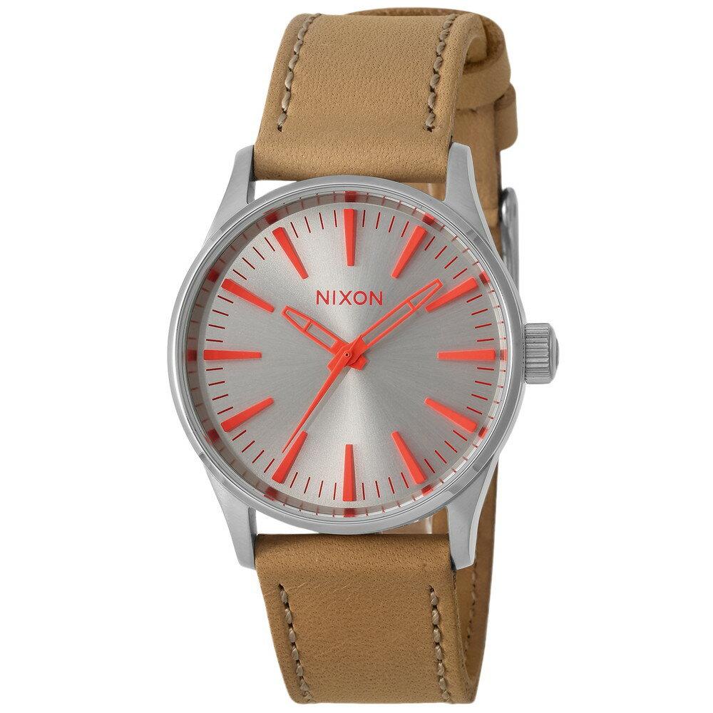 ニクソン NIXON SENTRY 38 LEATHER メンズ 時計 腕時計 NXS-A3772089 セントリー【カジュアル スケーター ストリート ファッション ブランド アメリカ】 とけい ウォッチ