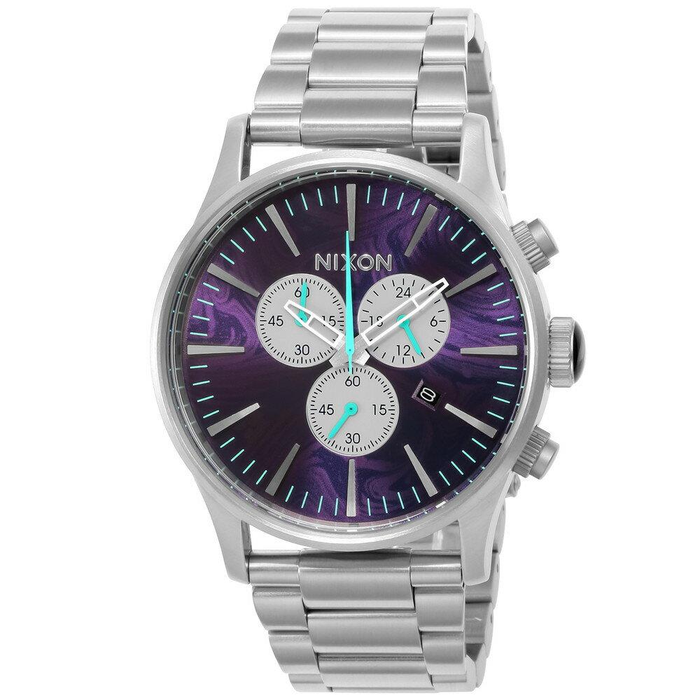 ニクソン NIXON SENTRY CHRONO メンズ 時計 腕時計 NXS-A386230 セントリー【カジュアル スケーター ストリート ファッション ブランド アメリカ】 とけい ウォッチ