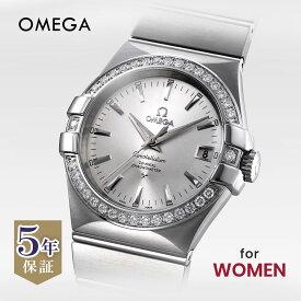 オメガ OMEGA コンステレーション レディース 時計 腕時計 コーアクシャル自動巻 シルバー 123.15.35.20.02.001
