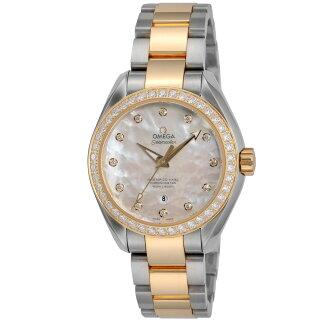 オメガOMEGAシーマスターアクアテラレディース時計腕時計OMS-23125342055006高級腕時計ブランドスイスとけいウォッチ