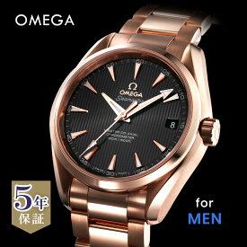 オメガ OMEGA シーマスター メンズ 時計 腕時計 コーアクシャル自動巻 ホワイト 231.50.39.21.06.003 金無垢