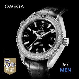 オメガ OMEGA シーマスター プラネットオーシャン メンズ 時計 腕時計 コーアクシャル自動巻 ブラック 232.18.46.21.01.001