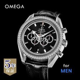 オメガ OMEGA スピードマスター メンズ 時計 腕時計 コーアクシャル自動巻 ブラック 321.58.44.52.51.001X