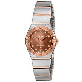 オメガ OMEGA コンステレーション マンハッタン レディース 時計 腕時計 クォ−ツ ブラウン 131.20.25.60.63.001