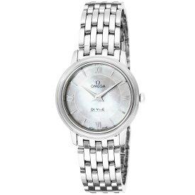 オメガ OMEGA デ・ヴィル デビル レディース 時計 腕時計 クォ−ツ ホワイトパール 424.10.27.60.05.001
