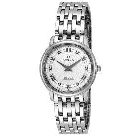 オメガ OMEGA デ・ヴィル デビル レディース 時計 腕時計 クォ−ツ シルバー 424.10.27.60.52.002