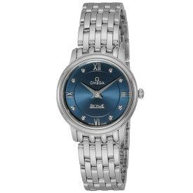 オメガ OMEGA デ・ヴィル デビル レディース 時計 腕時計 クォ−ツ ブルー 424.10.27.60.53.001
