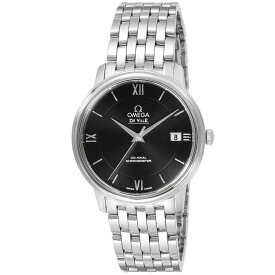 オメガ OMEGA デ・ヴィル デビル メンズ 時計 腕時計 コーアクシャル自動巻 ブラック 424.10.37.20.01.001