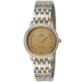 オメガ OMEGA デ・ヴィル デビル レディース 時計 腕時計 クォ−ツ シャンパーニュ 424.20.27.60.58.004