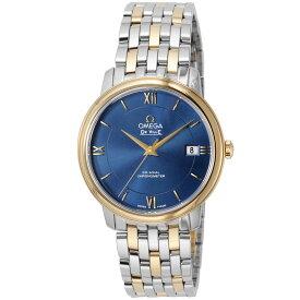 オメガ OMEGA デ・ヴィル デビル メンズ 時計 腕時計 コーアクシャル自動巻 ブルー 424.20.37.20.03.001