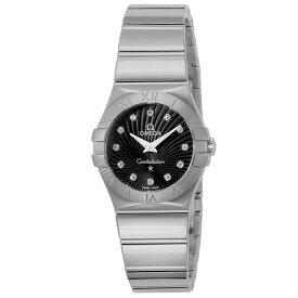 オメガ OMEGA 腕時計 コンステレーション レディース 時計 クォーツ ブラック 123.10.27.60.51.002
