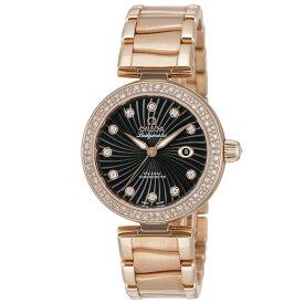 オメガ OMEGA デ・ヴィル デビル レディース 時計 腕時計 コーアクシャル自動巻 ブラック 425.65.34.20.51.001